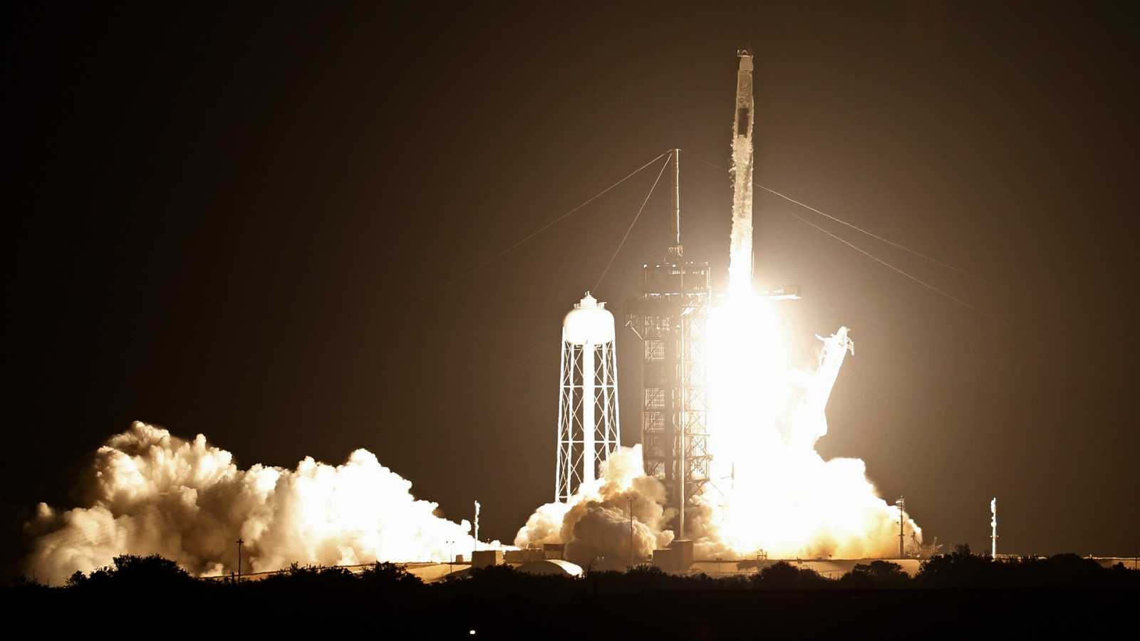 """Three, two, one..."": despega con éxito la segunda misión tripulada de la NASA y SpaceX a la Estación Espacial Internacional"