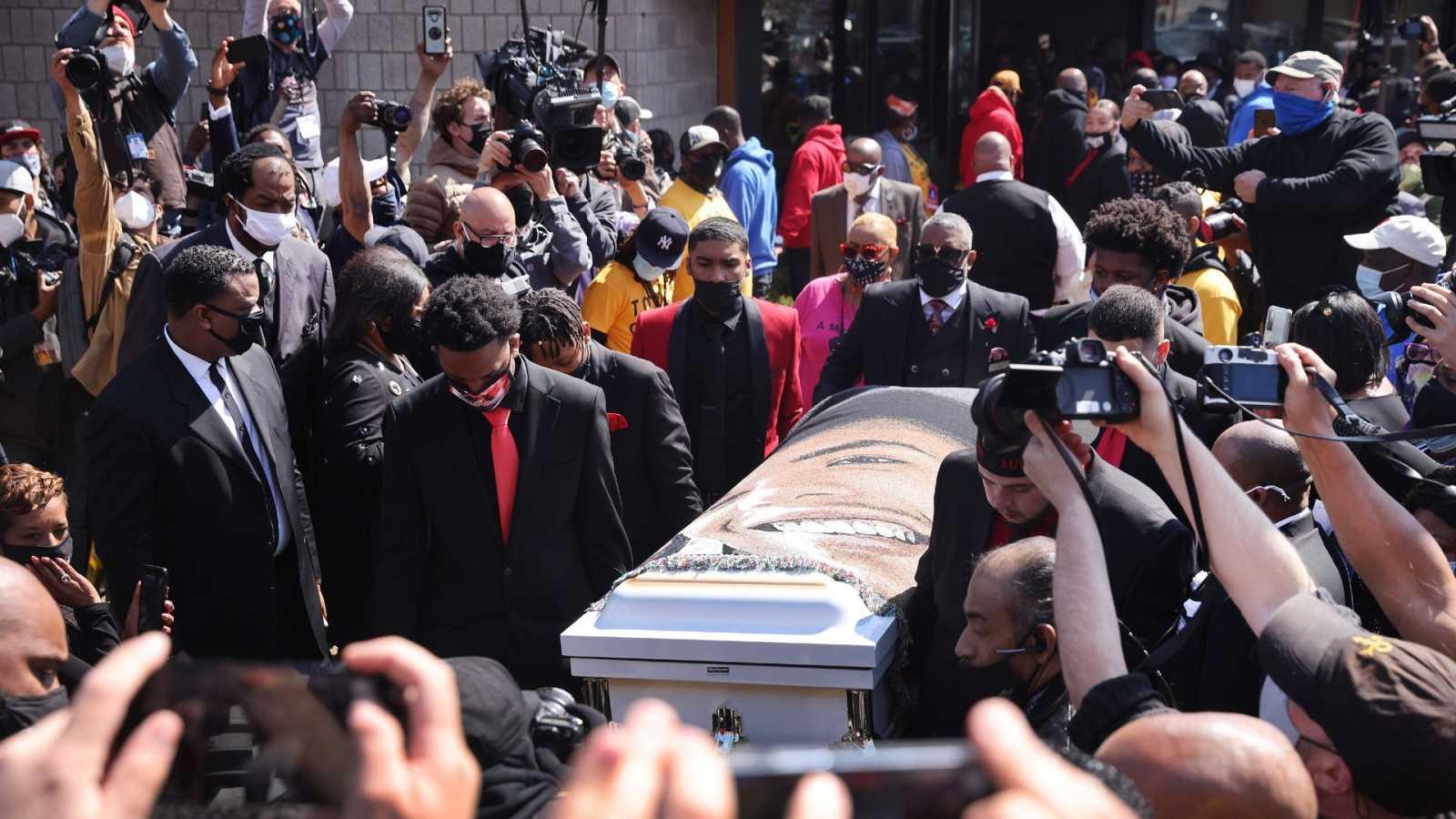 Funeral de Wright: un clamor en defensa de una reforma integral de la Policía en EE.UU.