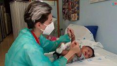 El Hospital 12 de Octubre extrae un trombo cerebral a un bebé de dos meses