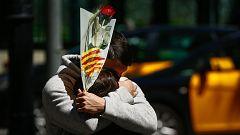 Rosas y libros vuelven a Sant Jordi