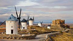 Intervalos de viento fuerte en el Estrecho y litoral de Andalucía oriental
