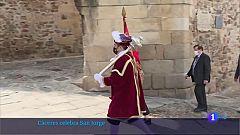 Cáceres vuelve a celebrar a su patrón, San Jorge