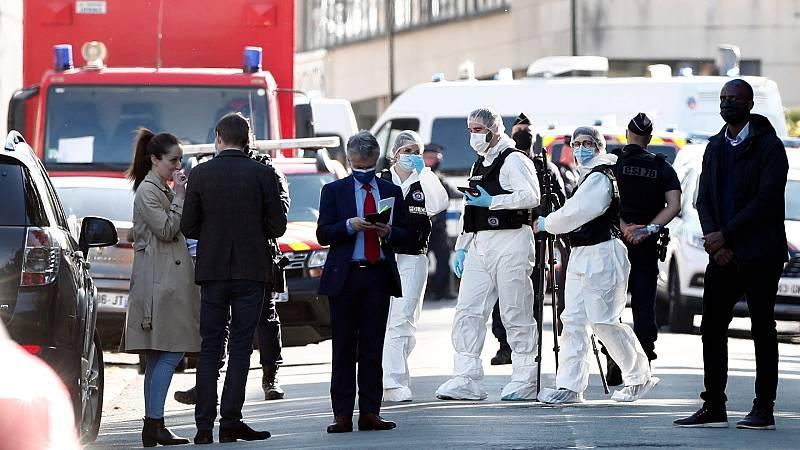 La Fiscalía de Francia investiga como ataque terrorista el asesinato de una agente de Policía cerca de París