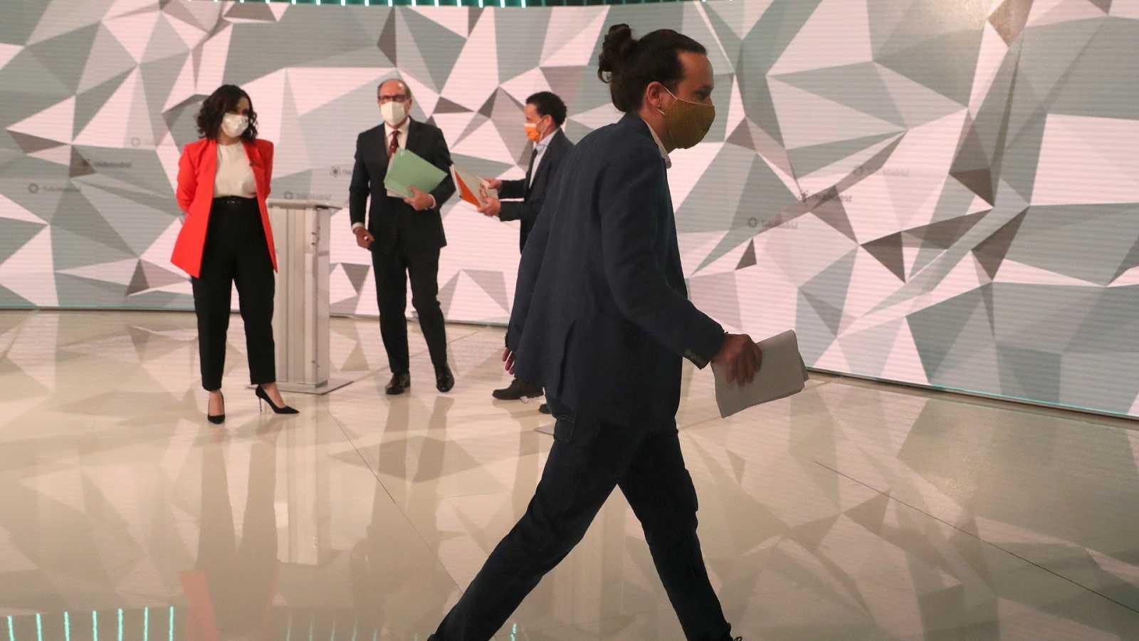 No habrá más debates electorales tras el plante de la izquierda a Vox