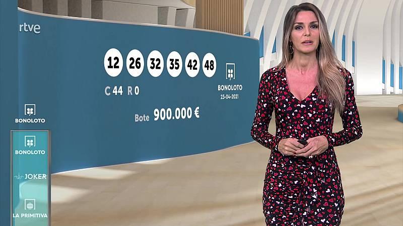 Sorteo de la Bonoloto y Euromillones del 23/04/2021 - ver ahora