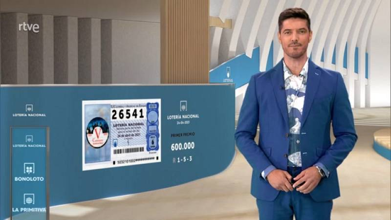 Sorteo de la Lotería Nacional del 24/04/2021 - ver ahora