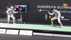 Esgrima - Torneo preolímpico. Final florete masculino
