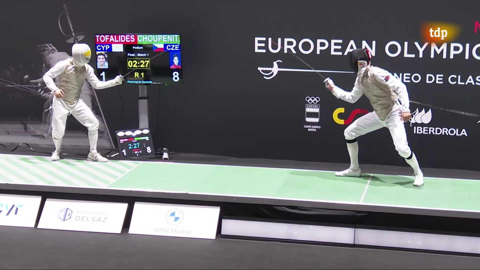 Esgrima - Torneo preolímpico. Final florete masculino - ver ahora