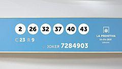 Sorteo de la Lotería Primitiva y Joker del 24/04/2021