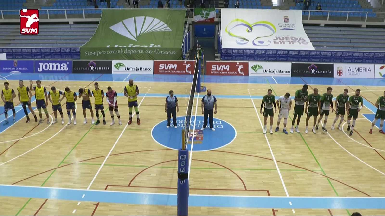 Voleibol - Superliga masculina. Play off Final 3º partido: Unicaja Costa de Almería - CV Guaguas - ver ahora