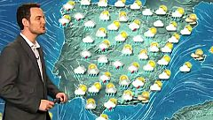 La borrasca Lola dejará este domingo precipitaciones en casi toda la península