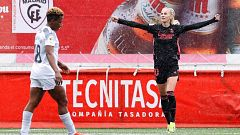 El Real Madrid vence al Madrid CFF en la revancha liguera de la Copa