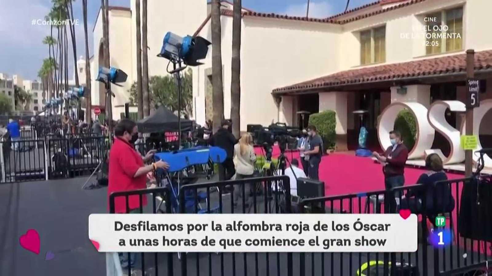 Corazón - Los Ángeles y el Union Station se preparan para la ceremonia de entrega de los Oscar