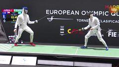 Esgrima - Torneo preolímpico. Espada masculina y florete femenino