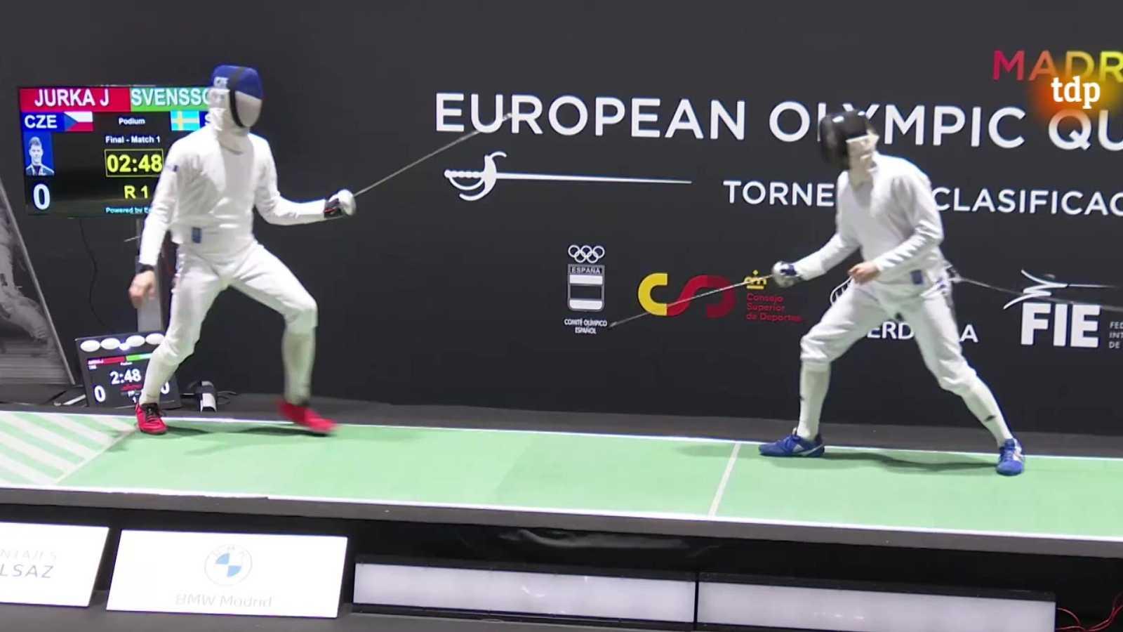 Esgrima - Torneo preolímpico. Espada masculina y florete femenino I - ver ahora
