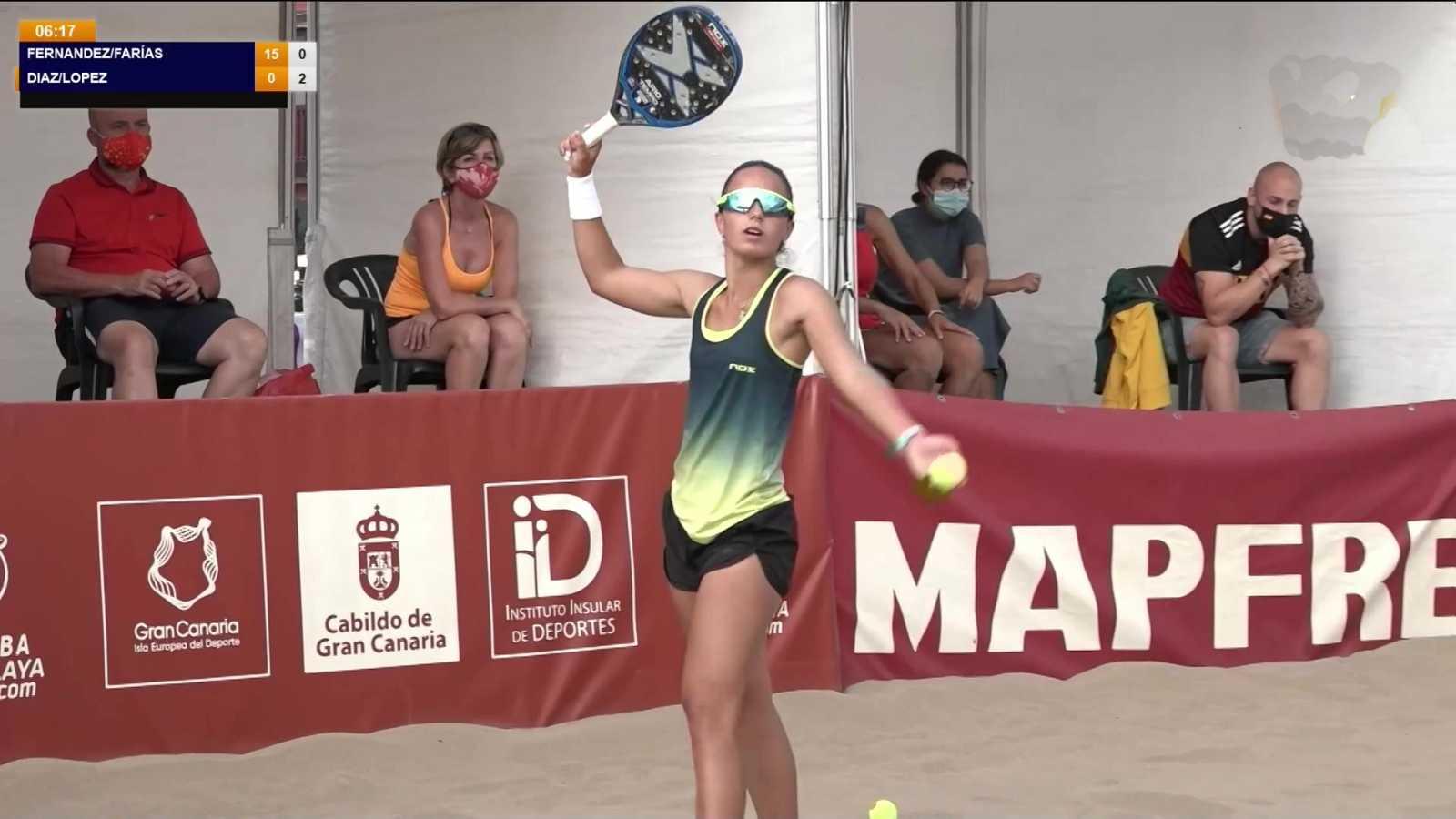 Tenis Playa - Campeonato de España. Final individual femenina - ver ahora