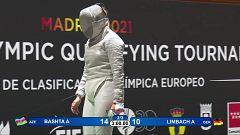 Esgrima - Torneo preolímpico. Final sable femenino