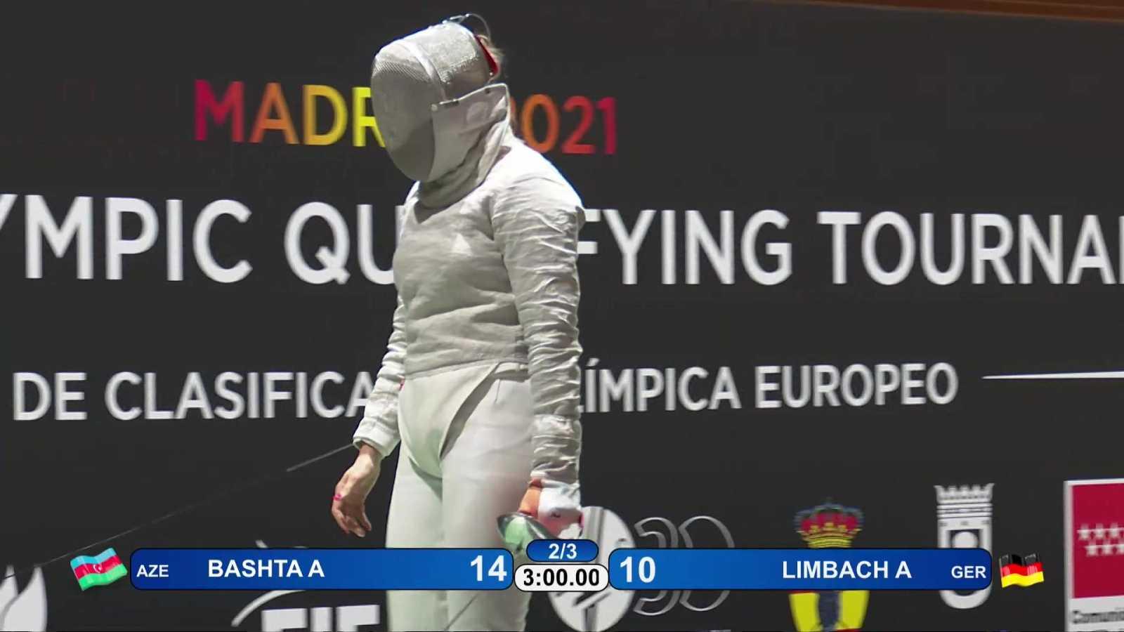 Esgrima - Torneo preolímpico. Final sable femenino - ver ahora