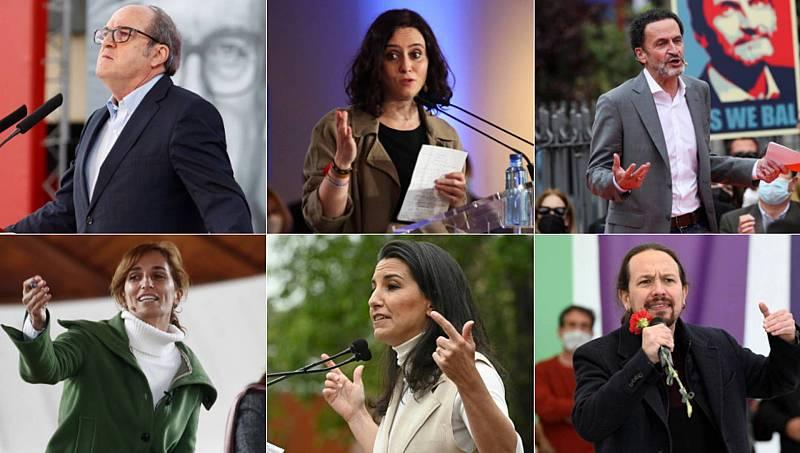 Los partidos endurecen sus discursos en busca de la movilización el 4 de mayo