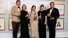 Los Oscar se sobreponen al coronavirus con 'Nomadland' como gran triunfadora de la gala