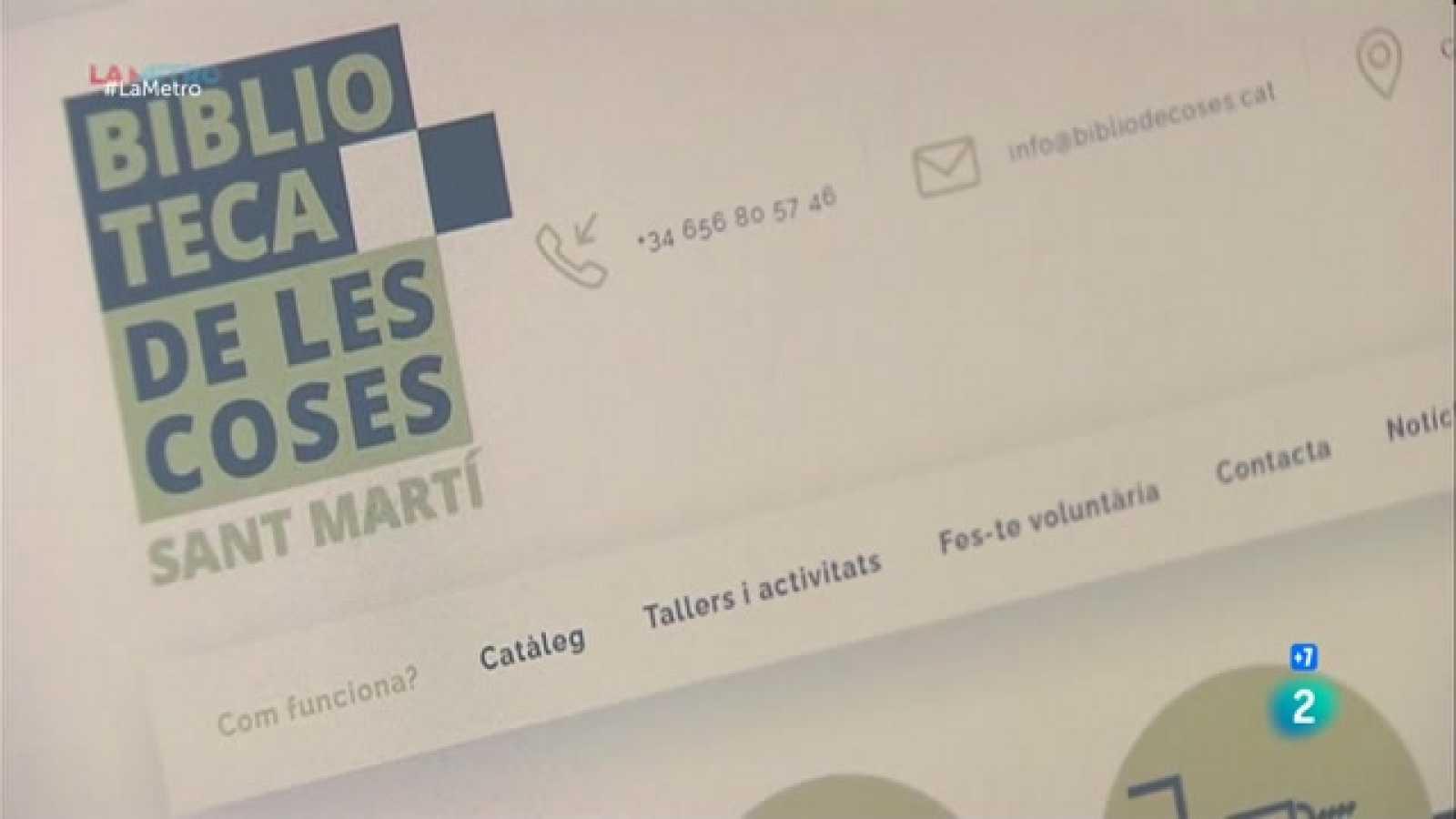 Presentem la Biblioteca de les Coses, un servei de préstec d'objectes d'ús quotidià per un preu que va d'un a deu euros a la setmana.