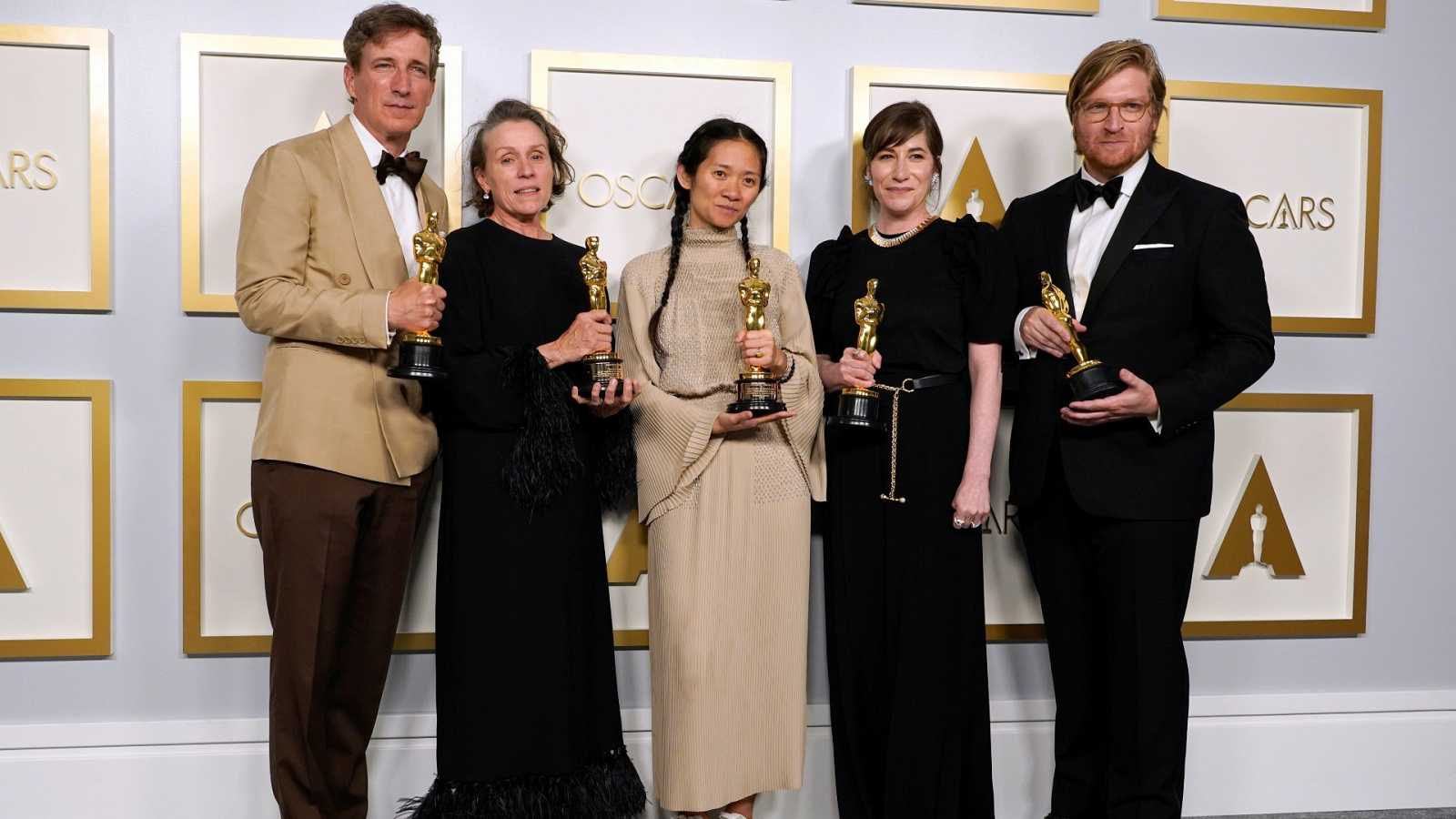 'Nomadland' triunfa en los Oscar de la diversidad