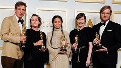 'Nomadland' se lleva la gloria en los Oscar de la pandemia