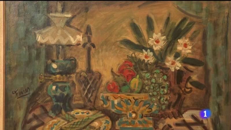Video en el que podemos ver las obras de Pedro Flores que se exponen en el MUBAM