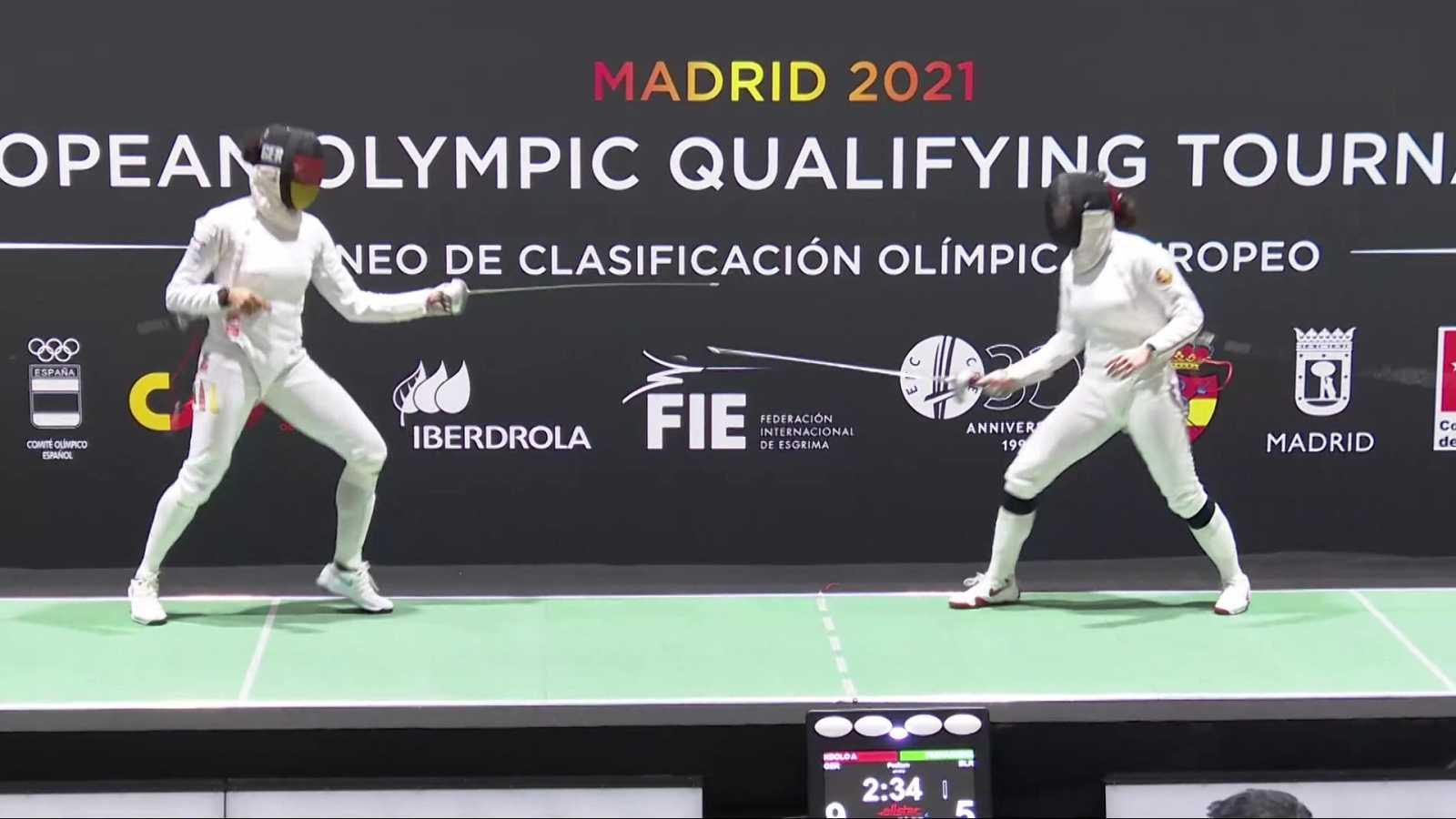 Esgrima - Torneo preolímpico. Espada femenina - ver ahora