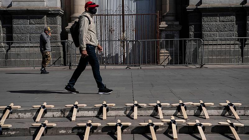 América Latina suma 28 millones de contagios, con récord de muertes en abril