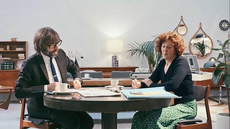 Entrevista d'Òscar Dalmau a Noemí Gimeno al dotzè capítol d''Helvètica'