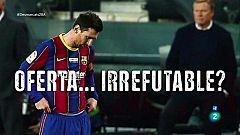 Desmarcats. Tertúlia la oferta a Leo Messi