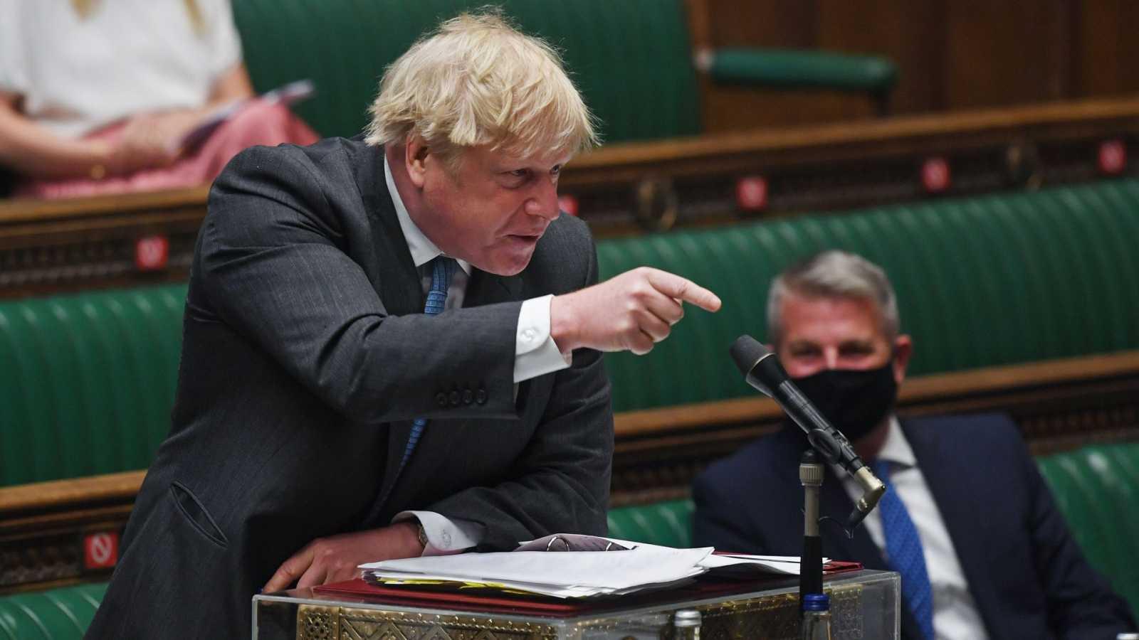 Johnson responde a la Comisión Electoral que pagó la reforma en Downing Street con su dinero