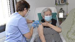 La llegada 'récord' de vacunas marca un punto de inflexión en la pandemia en España