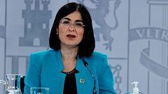 Especial informativo - Comparecencia de la ministra de Sanidad - 28/04/21