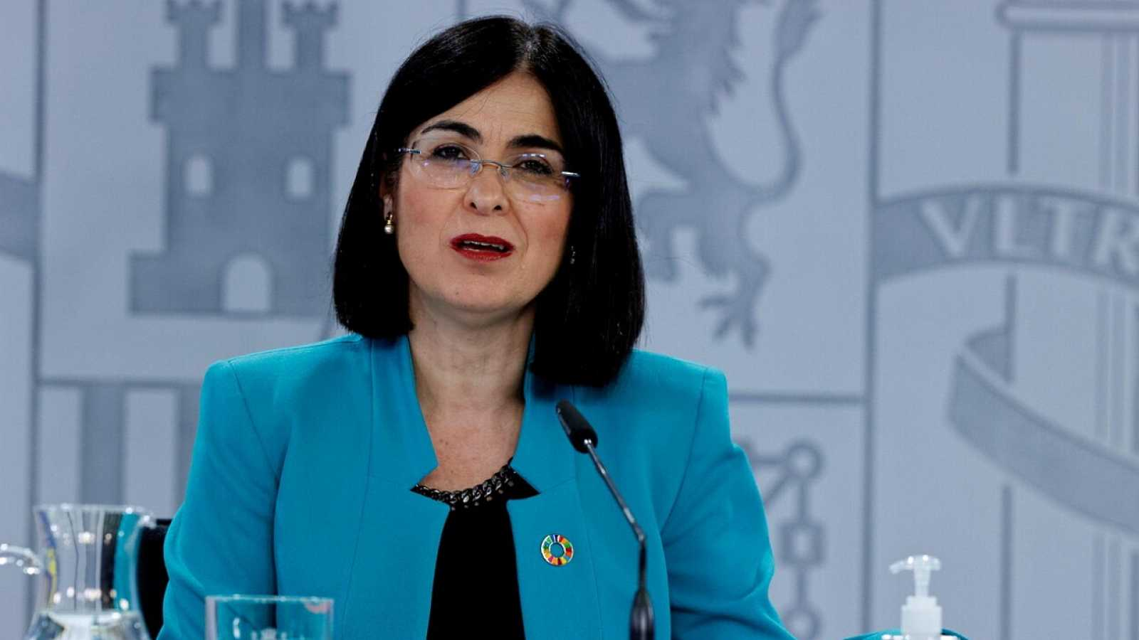 Especial informativo - Comparecencia de la ministra de Sanidad - 28/04/21 - ver ahora