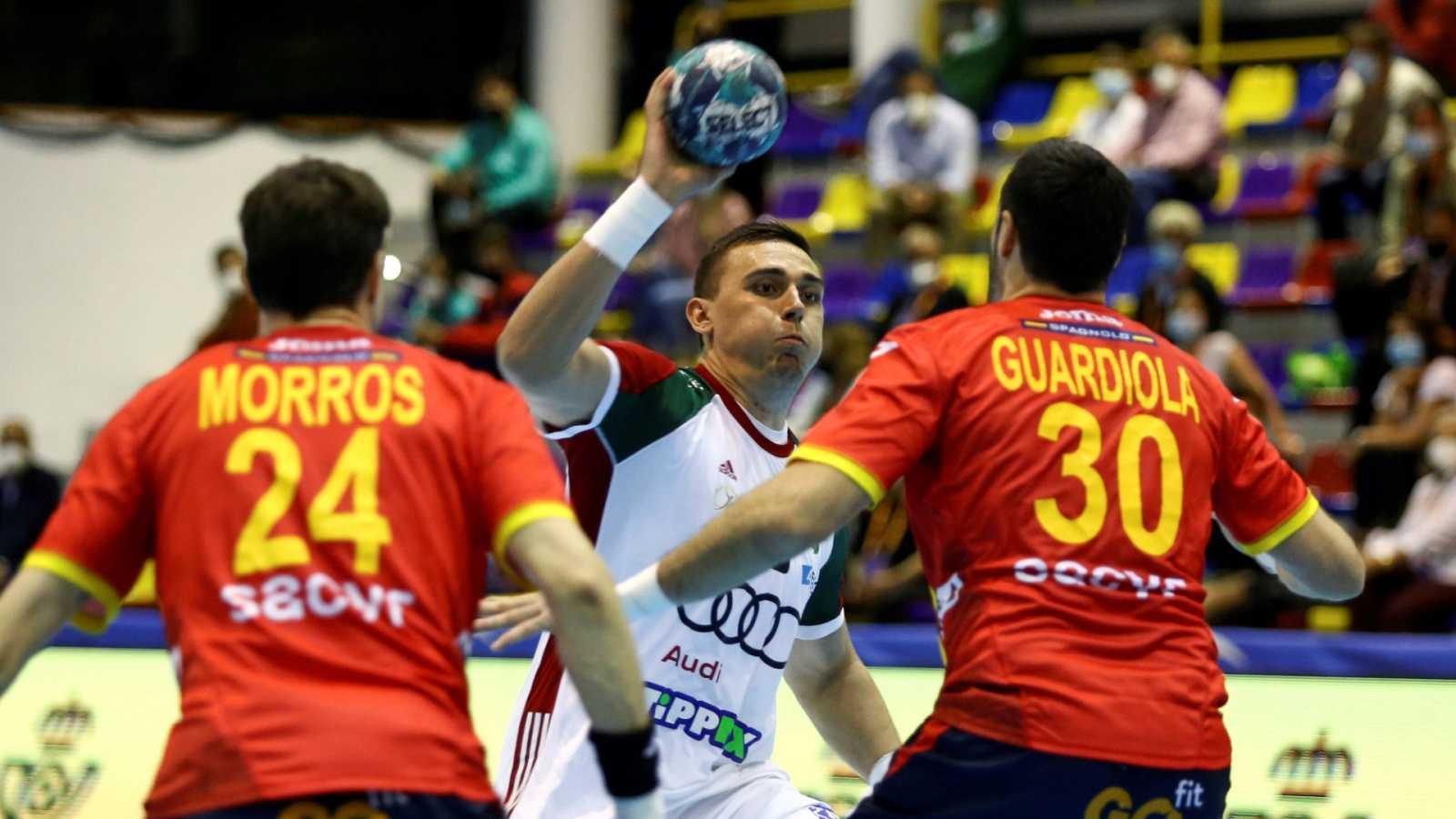 Balonmano - EHF Cup. Selecciones masculinas: España - Hungría - ver ahora