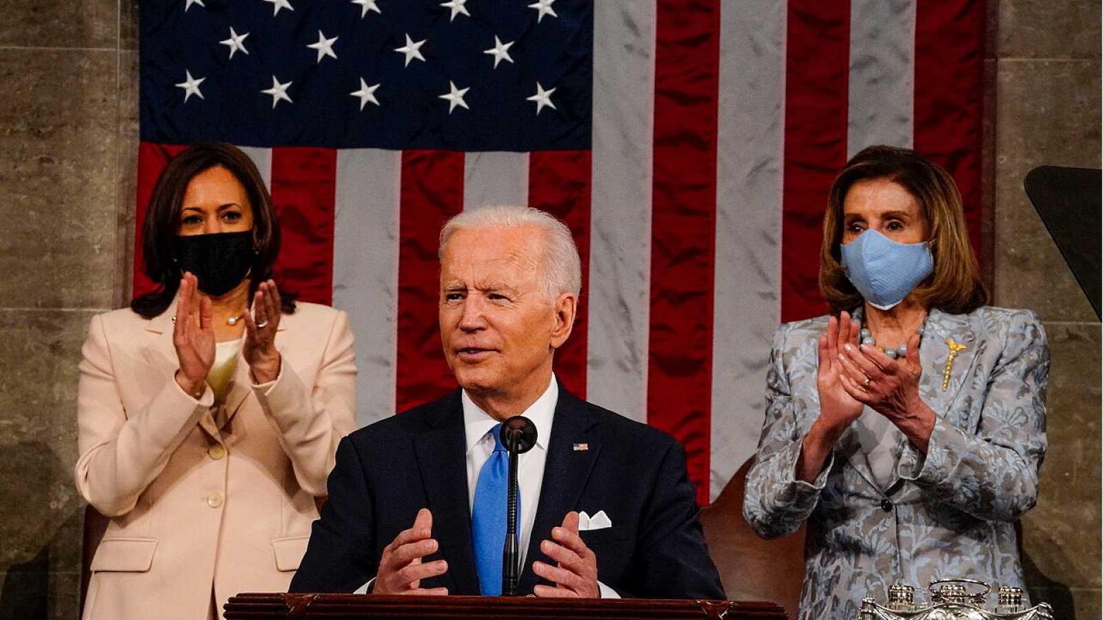 Especial informativo - Discurso de la nación en EEUU del presidente Joe Biden - 29/04/21 - ver ahora