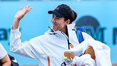 Garbiñe Muguruza y Paula Badosa debutan en el Mutua Madrid Open