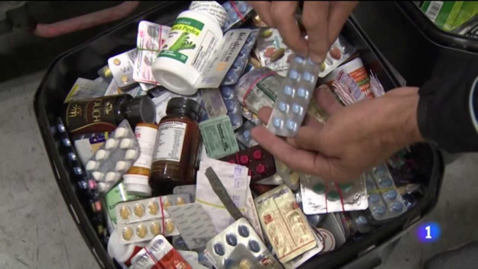 falsificaciones, medicamentos ilegales o drogas los más frecuentes