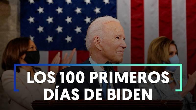 Los cien primeros días de gobierno de Joe Biden