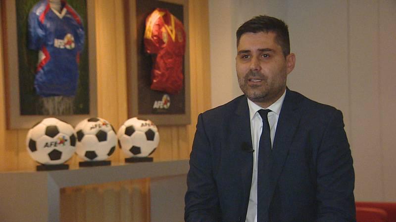 Los retos de Aganzo tras ser reelegido presidente del sindicato de futbolistas AFE