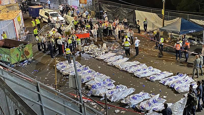 Mueren 44 personas en una estampida durante una celebración religiosa multitudinaria - Ver ahora