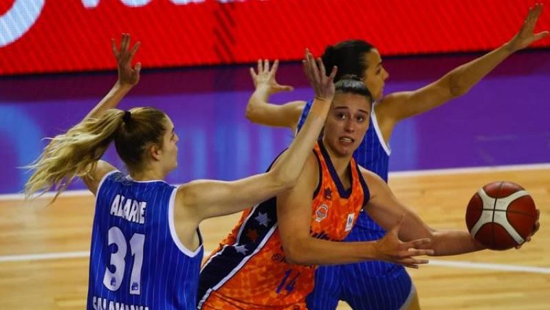 "Raquel Carrera, la ""jefa"" del Valencia basket"