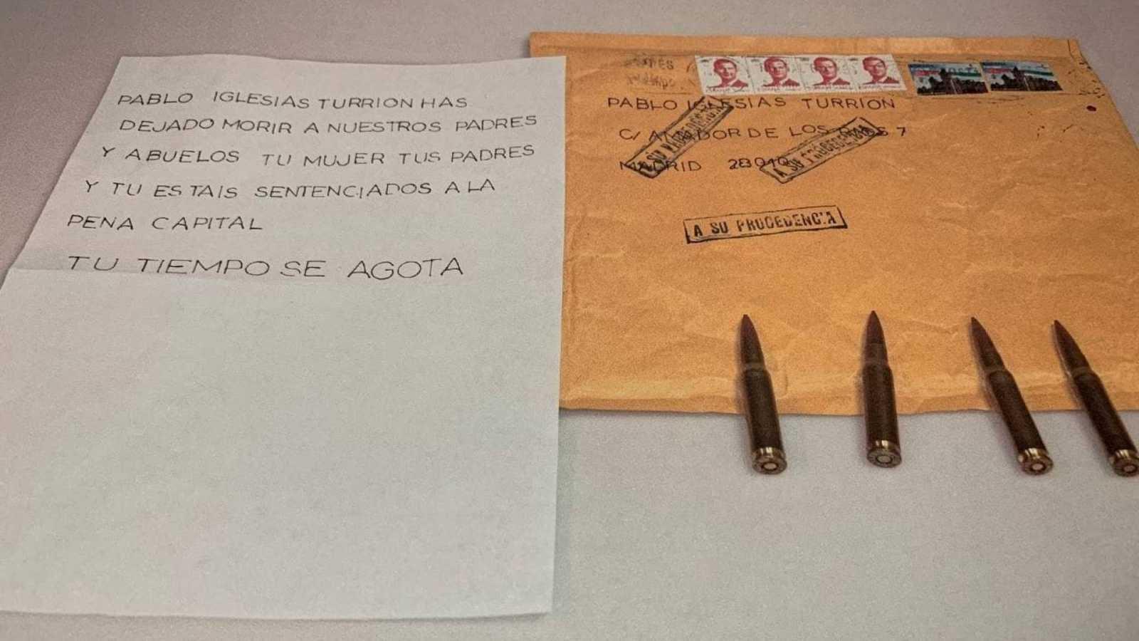 """Rafael Pérez, sobre las cartas con amenazas: """"Hemos detectado la empresa que fabricaba las balas y restos de ADN"""""""