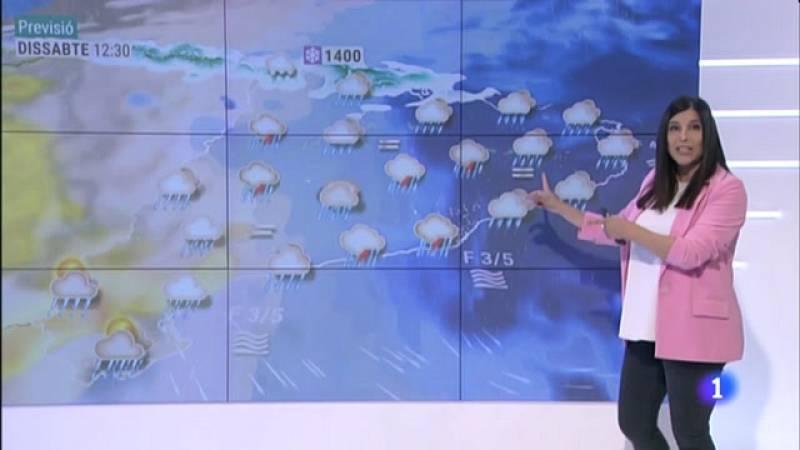 El Temps (30/04/2021) - Més precipitacions i més fresca