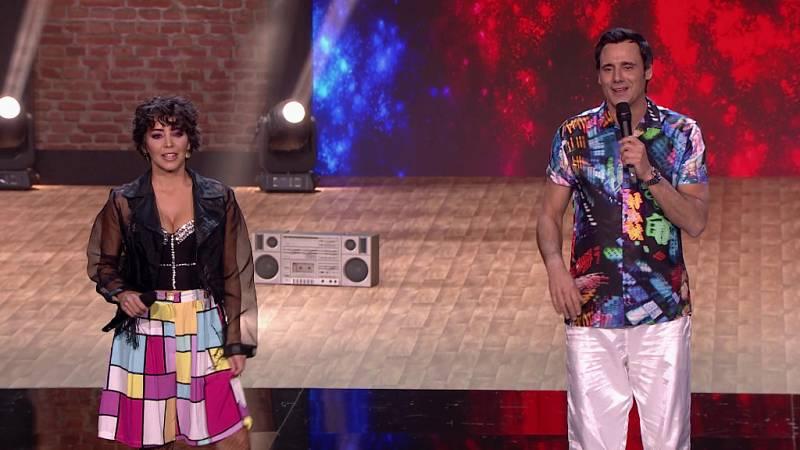 The Dancer - Ion Aramendi y Sandra Cervera sorprenden bailando en 'The Dancer'