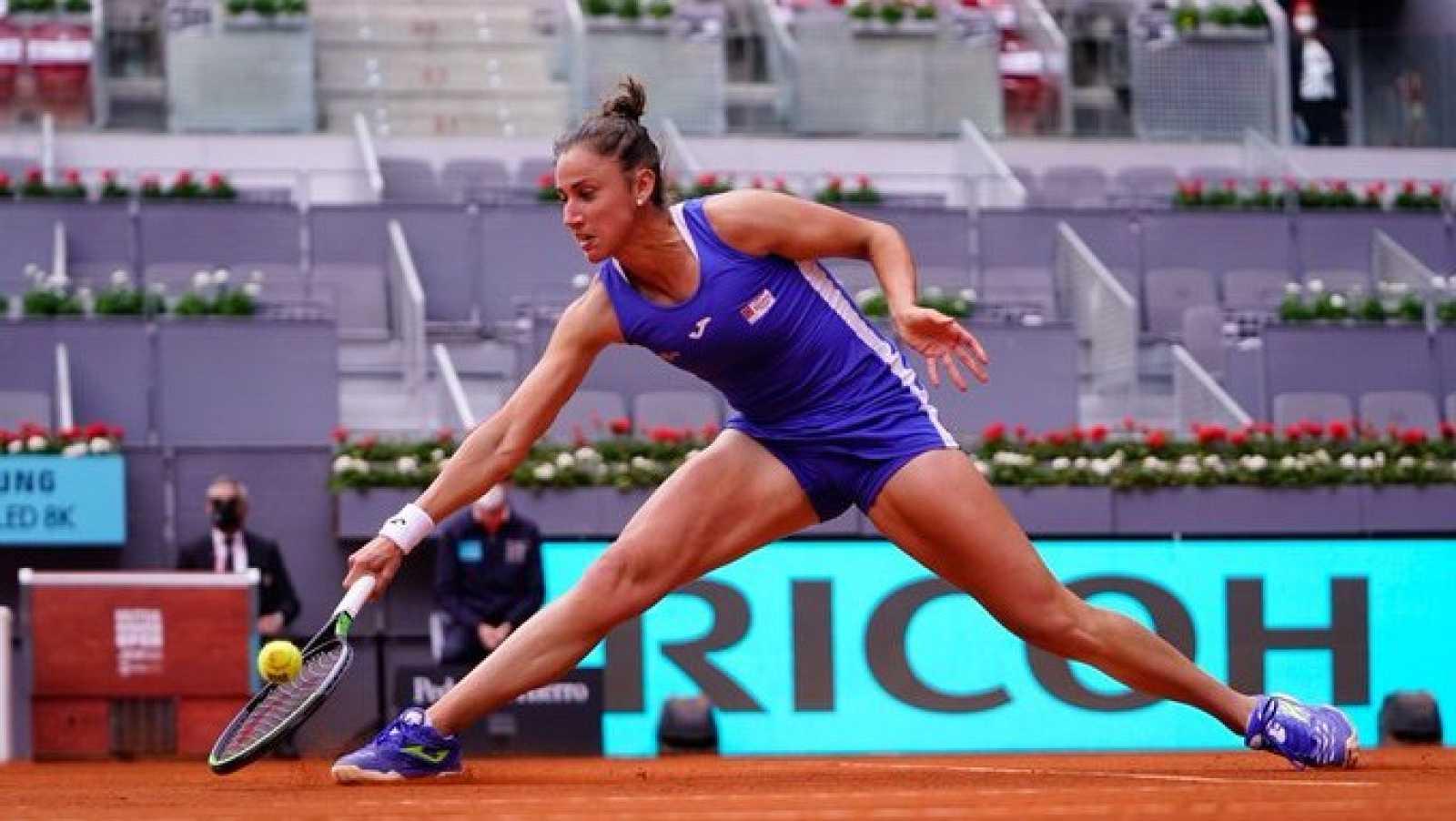 Simona Halep vence a Sara Sorribes en Madrid