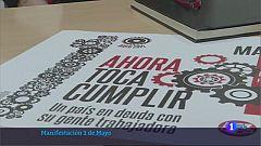 Mérida volverá a centrar la manifestación del 1 de mayo en Extremadura