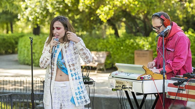 Zahara - Canción de muerte y salvación (directo en el Jardín Botánico de Madrid)